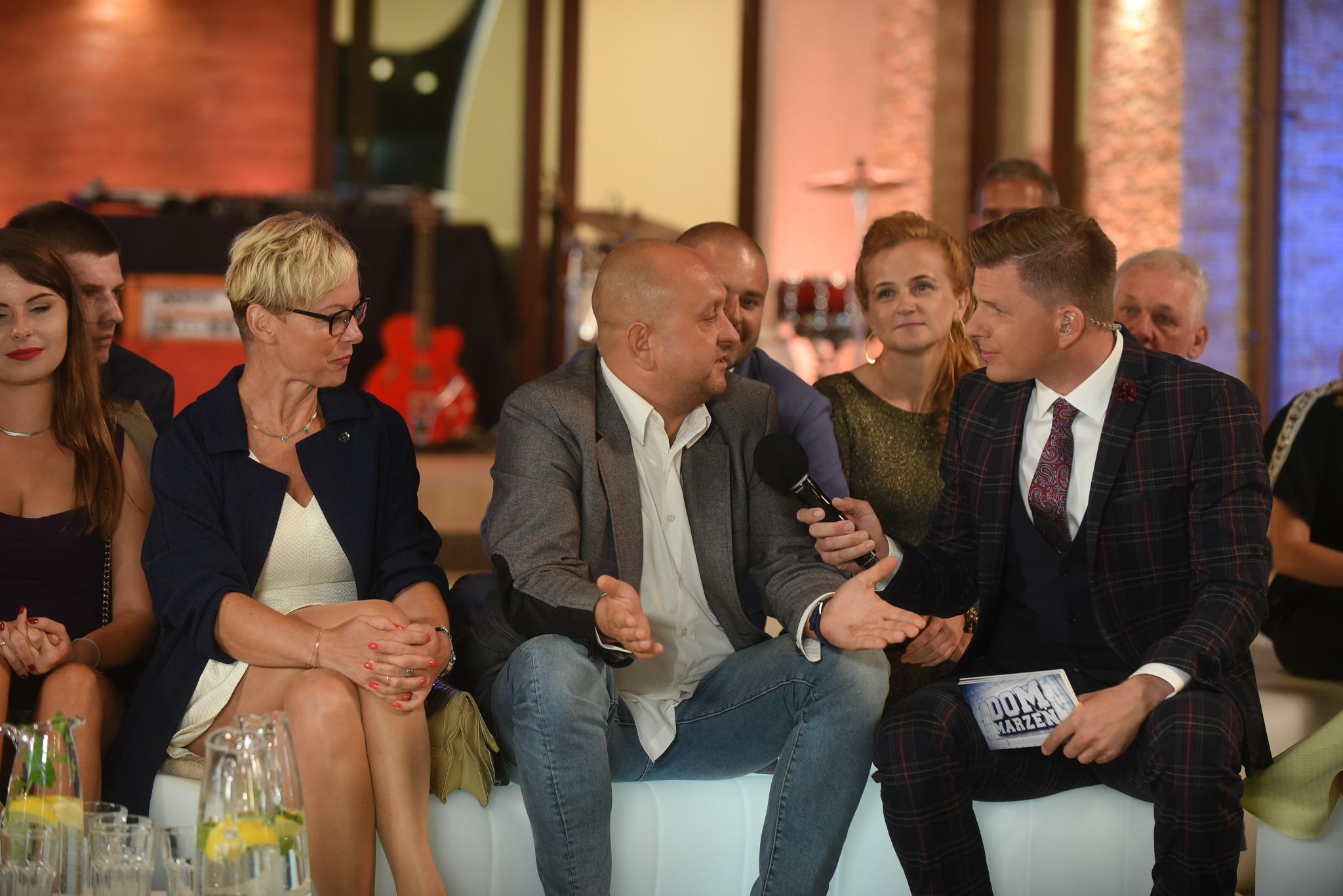 Mirek i Sylwia Madeja w rozmowie z Filipem Chajzerem