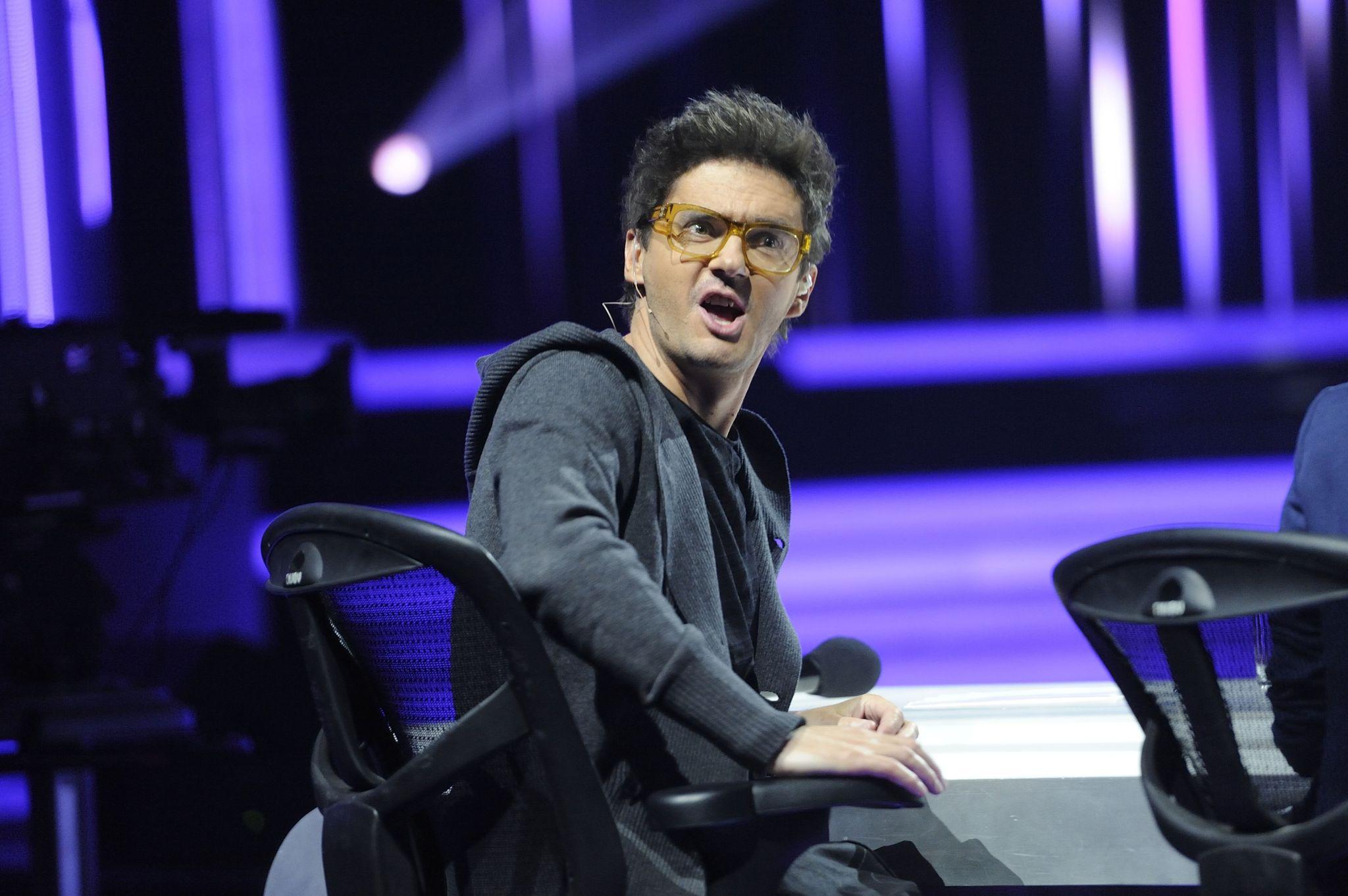 """Kuba Wojewódzki na konferencji """"X Factor"""""""